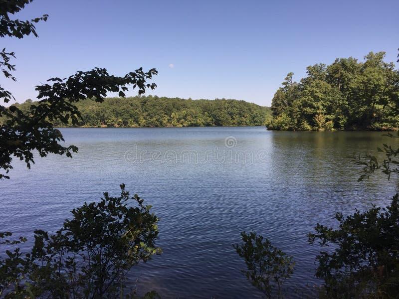 Sjön lurleen royaltyfria foton