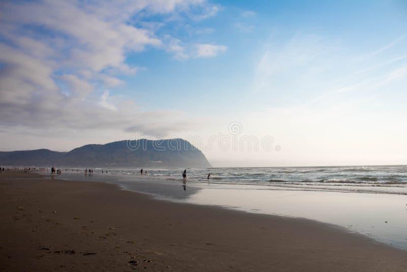 SjösidaOregon strand arkivfoton