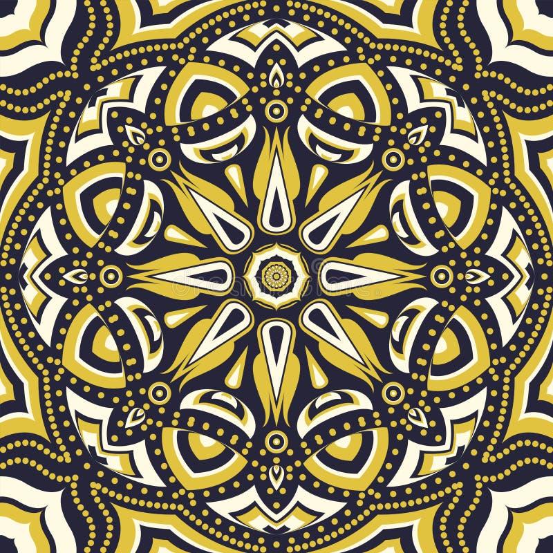 Download Sjaalpatroon vector illustratie. Illustratie bestaande uit ornament - 54091059