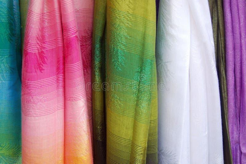 Sjaals stock foto