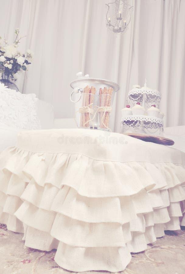 Sjofel elegant decor stock afbeeldingen