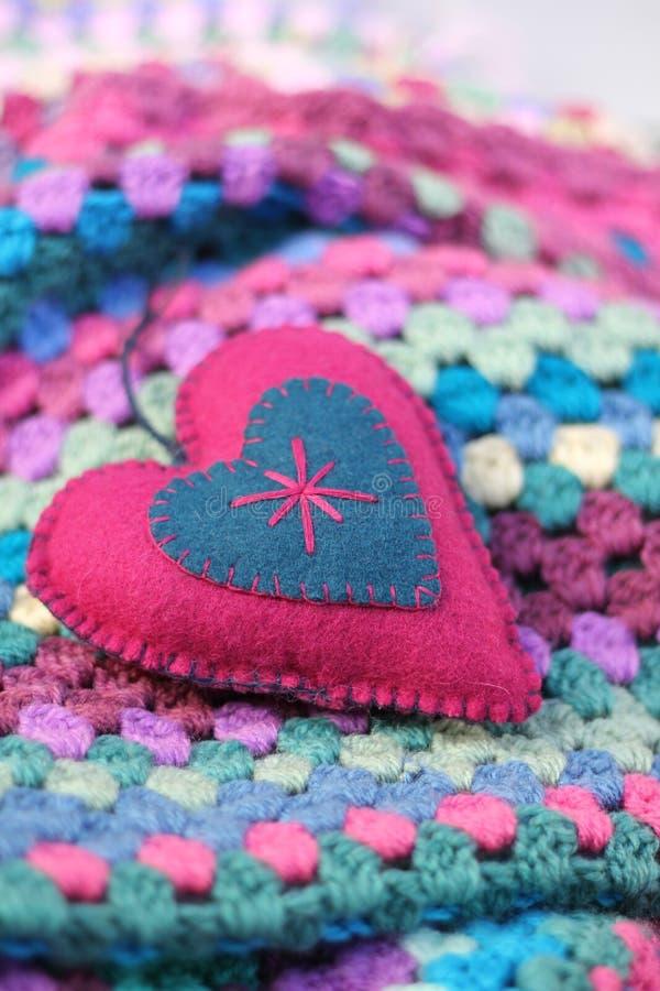 Sjofel Elegant Valentine royalty-vrije stock afbeeldingen