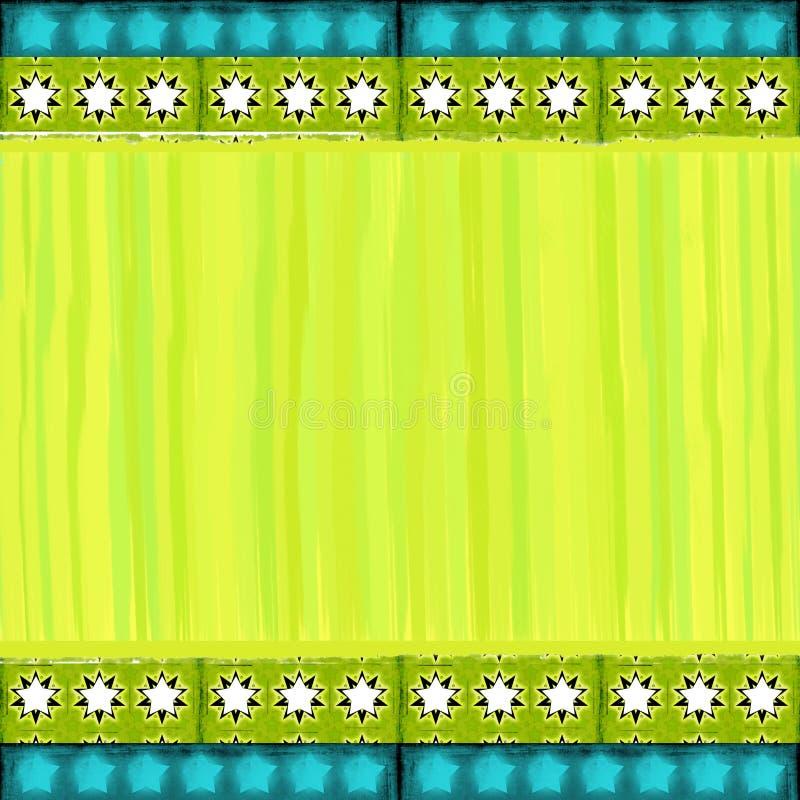 Sjofel kleurrijk Kerstmisframe royalty-vrije illustratie