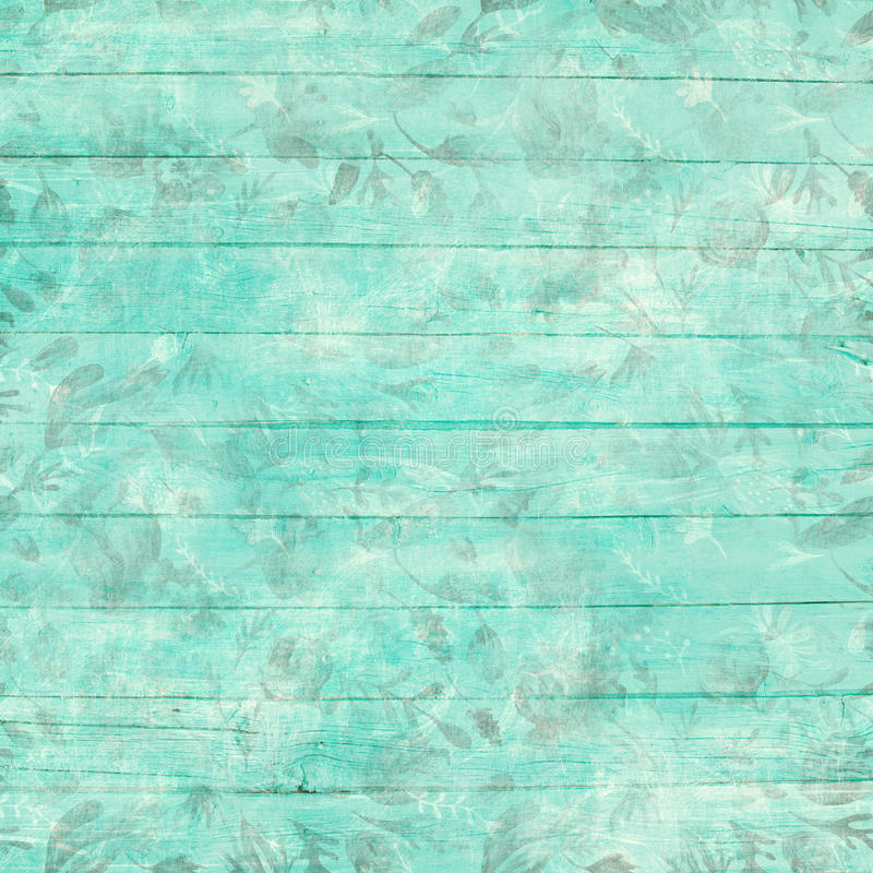 Sjofele Elegante Lichte Turkooise Achtergrond stock illustratie