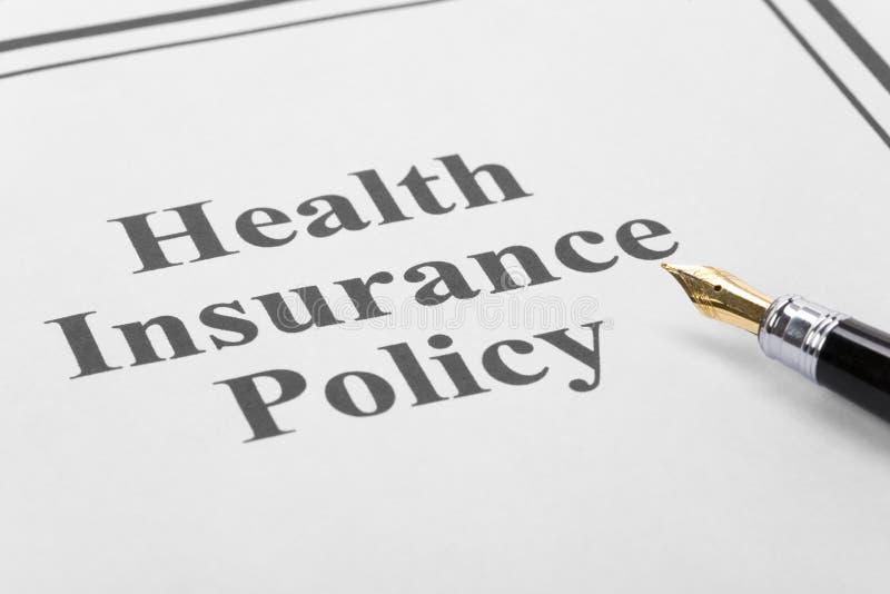 sjukförsäkring arkivfoton