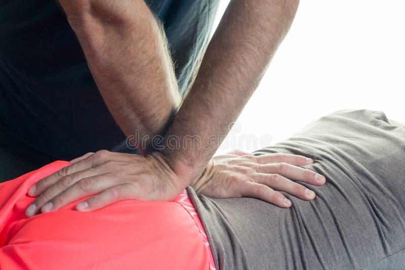 sjukgymnastik arkivfoto