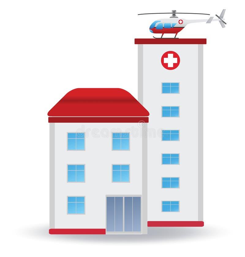 Sjukhus vektor illustrationer