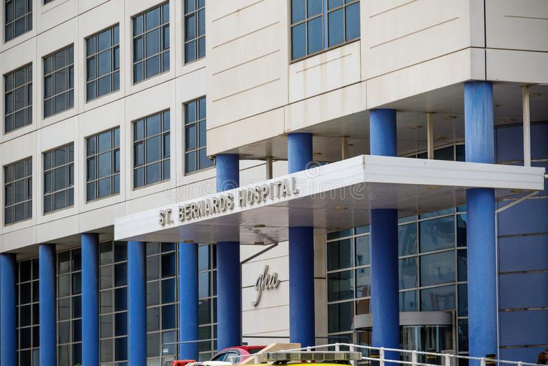 Sjukhus för St Bernard ` s arkivbilder