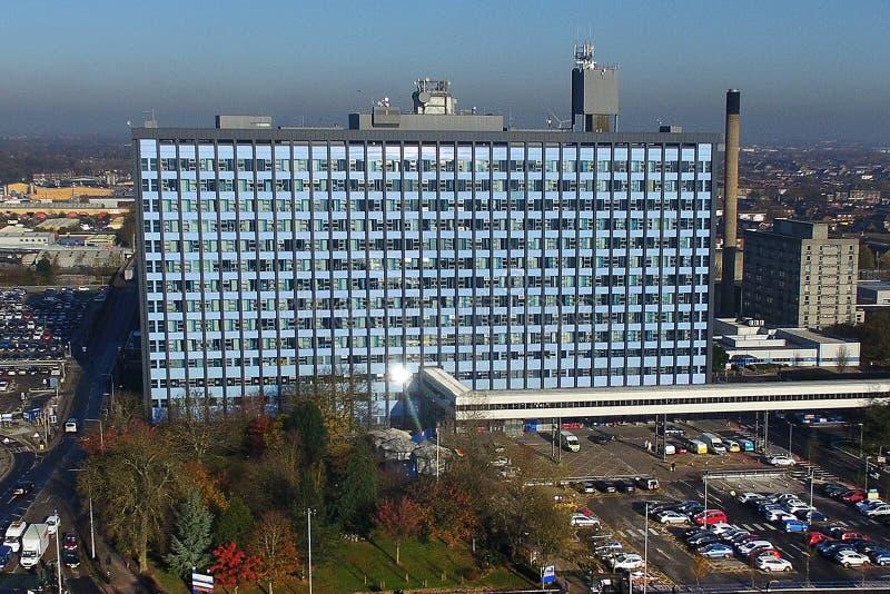 Sjukhus Kingston på skrovet, östligt Yorkshire sjukhus royaltyfria foton