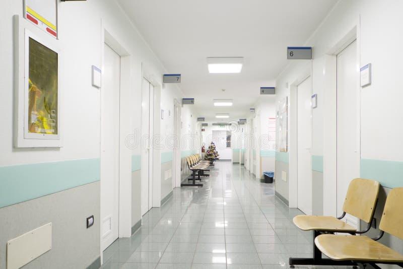 Sjukhushall arkivfoton