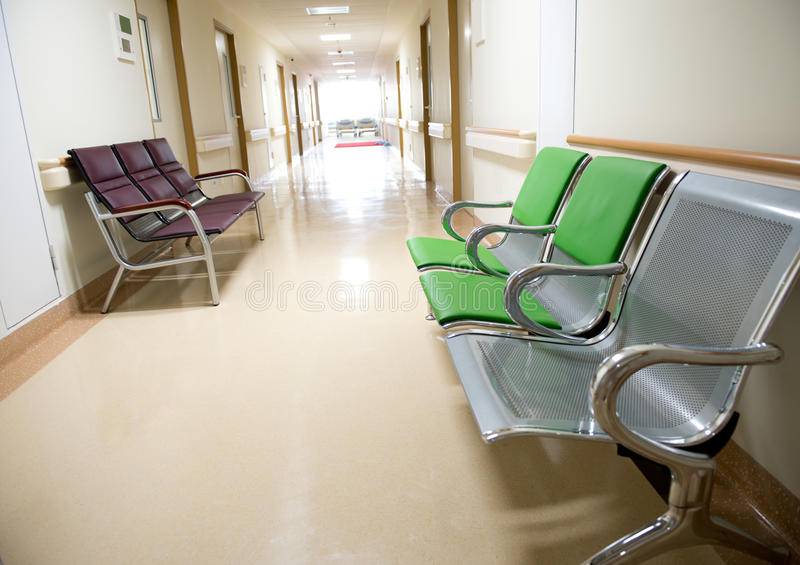 Sjukhusinre arkivfoton