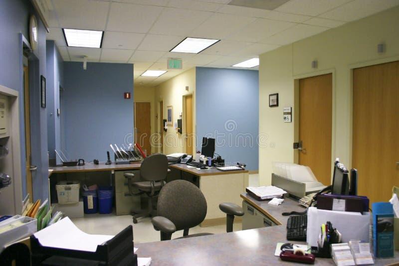 sjukhuskontor fotografering för bildbyråer