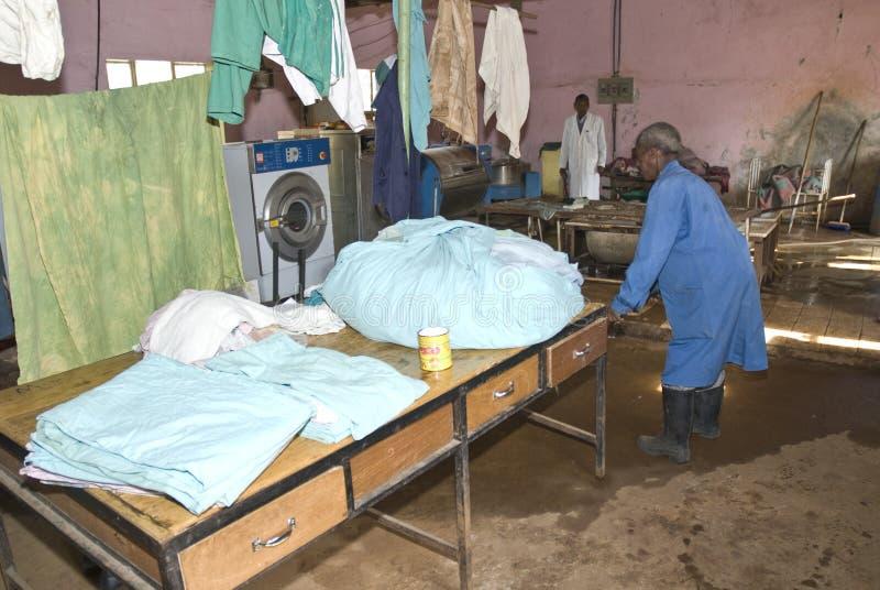 sjukhustvätterinekemte arkivbilder