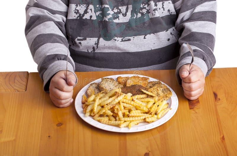 sjuklig mat arkivbilder