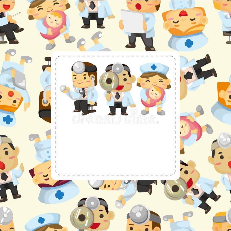 Download Sjuksköterska För Korttecknad Filmdoktor Vektor Illustrationer - Illustration av gulligt, sjuksköterska: 19788940
