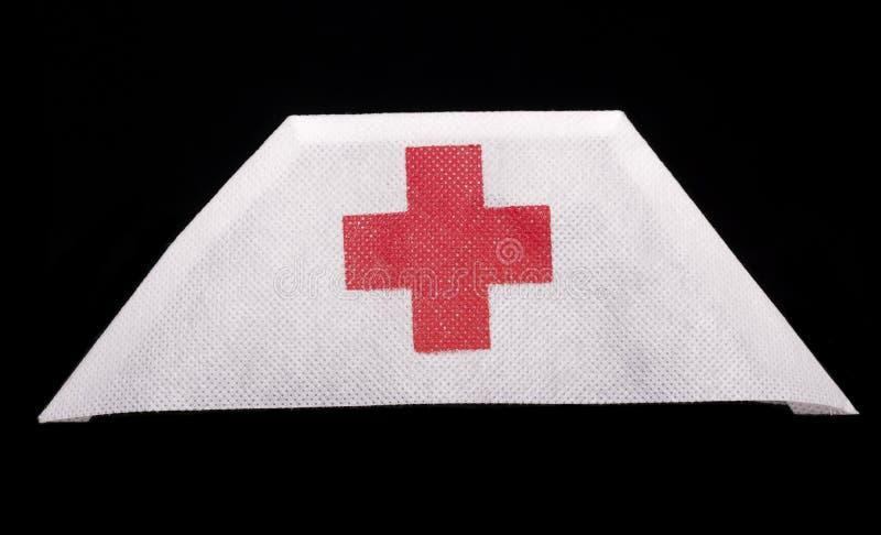Sjuksköterskahatt royaltyfri bild
