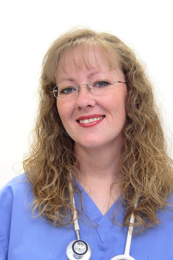 sjuksköterskan skurar fotografering för bildbyråer