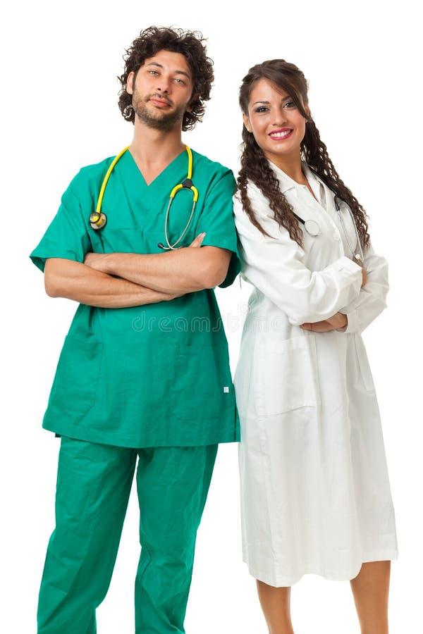 Sjukvårdexperter royaltyfri foto