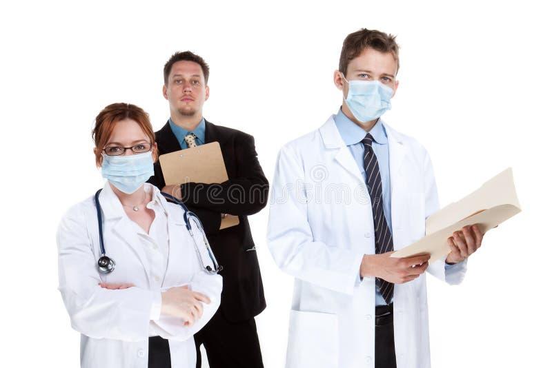 sjukvårdlag royaltyfri foto