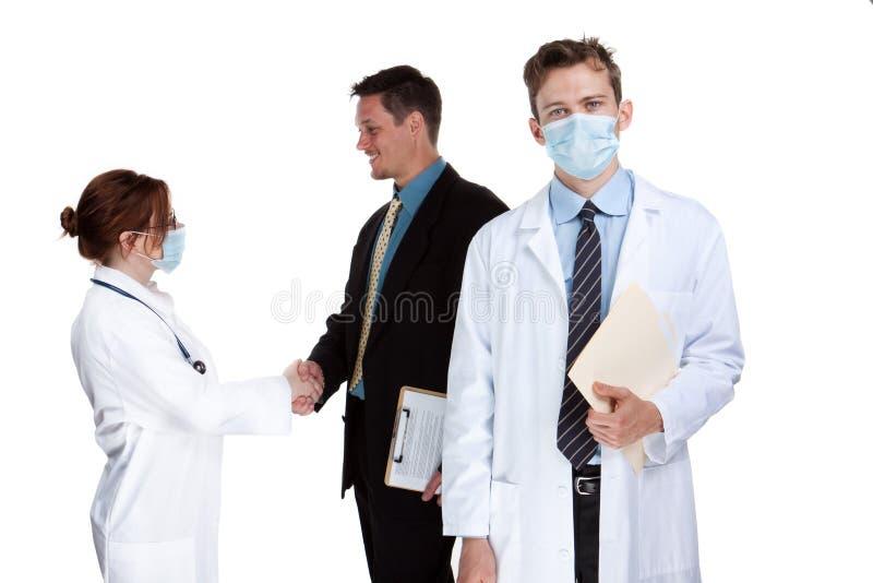 sjukvårdlag royaltyfria bilder