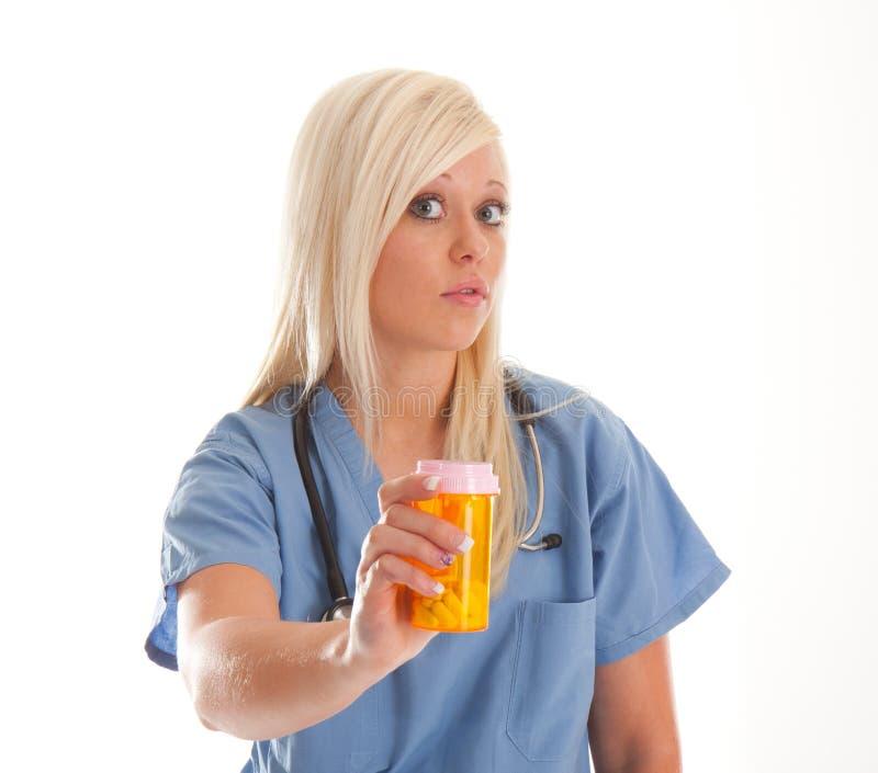 sjukvårdmedicinarbetare fotografering för bildbyråer