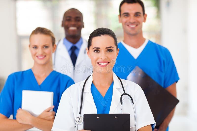 Sjukvårdprofessionellsjukhus arkivfoton