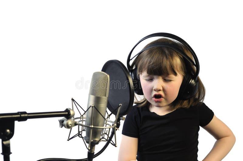 sjunga arkivbild