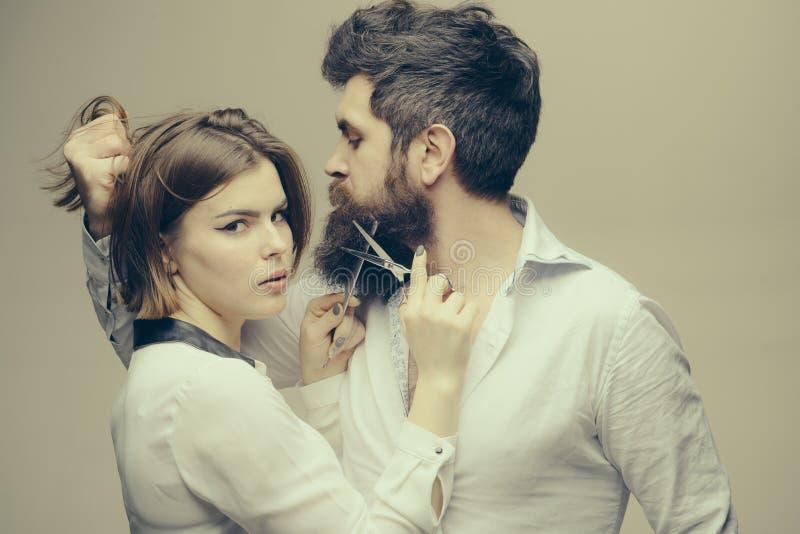 Skägget gör ditt utseende mer manlig och brutalt Glänsande blick för ansikts- hår för uppehälle för skäggomsorgtrick masculinity arkivfoton