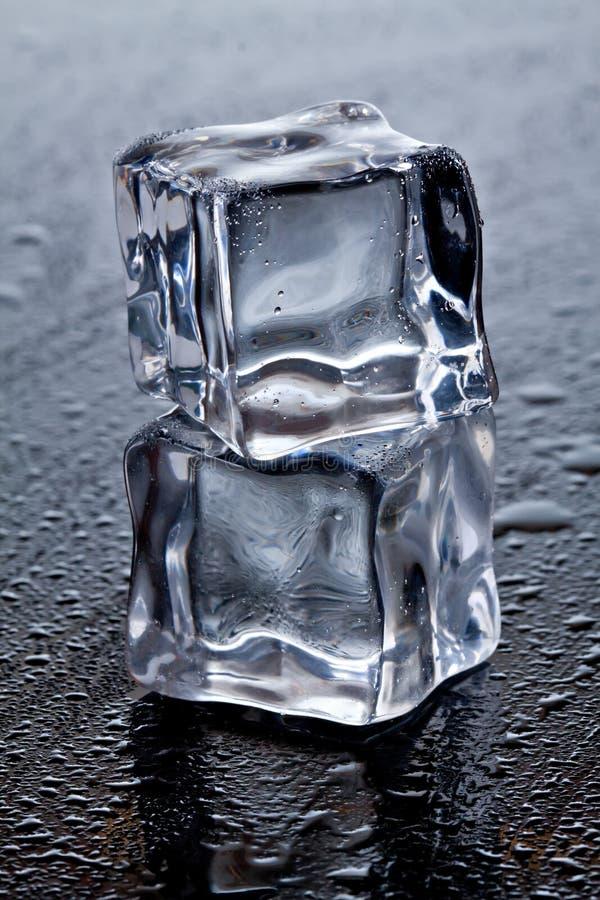 Download Skära i tärningar is fotografering för bildbyråer. Bild av kylt - 19776253