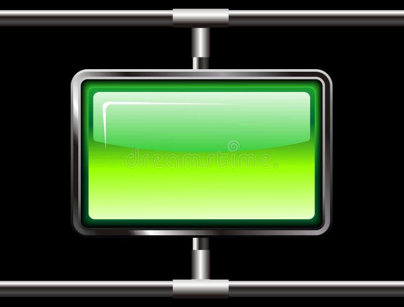 skärmstålrengöringsduk stock illustrationer