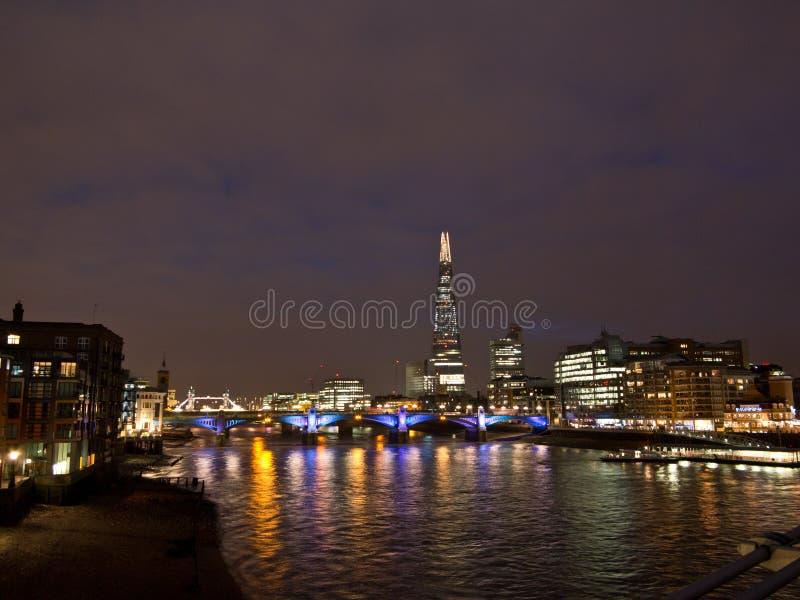 Skärvan i London royaltyfria foton
