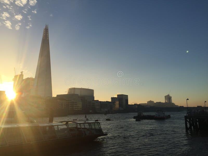 Skärvan London fotografering för bildbyråer