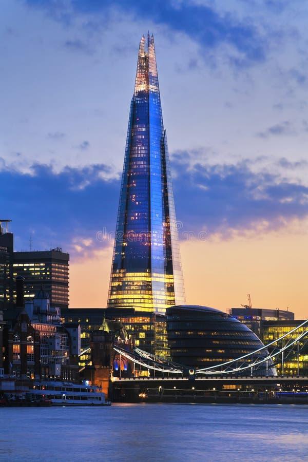 Skärvan London royaltyfri bild