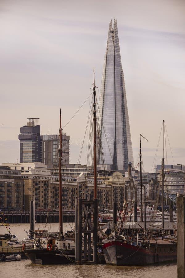 Skärvan - London, Förenade kungariket fotografering för bildbyråer