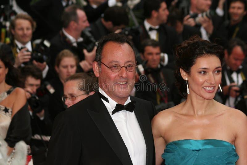 skådespelare Jean Reno royaltyfria bilder