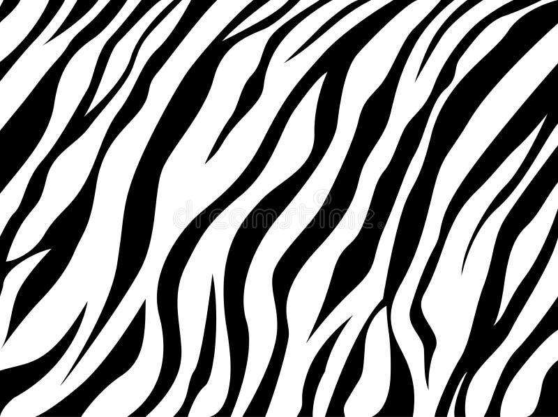 Skóry zebra royalty ilustracja