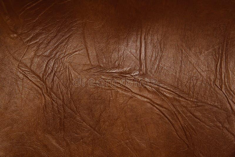 skórzana konsystencja brown zdjęcie royalty free