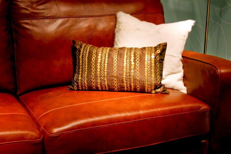 skórzana sofa obraz stock