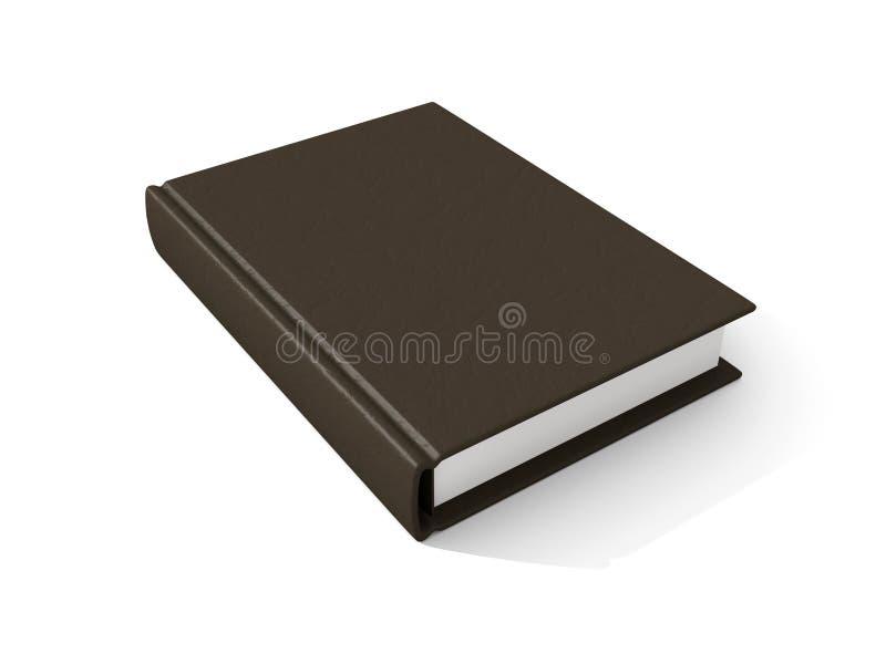 skórzany stara książka ilustracja wektor