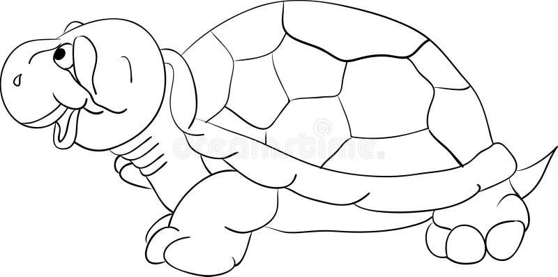 sköldpadda royaltyfri illustrationer
