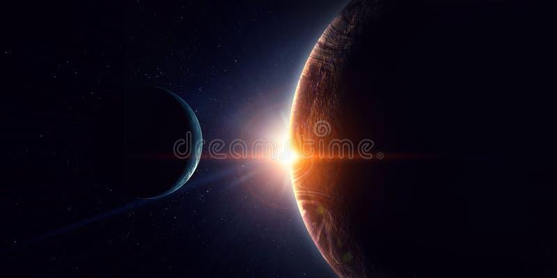 Skönhet av galaxen royaltyfria foton