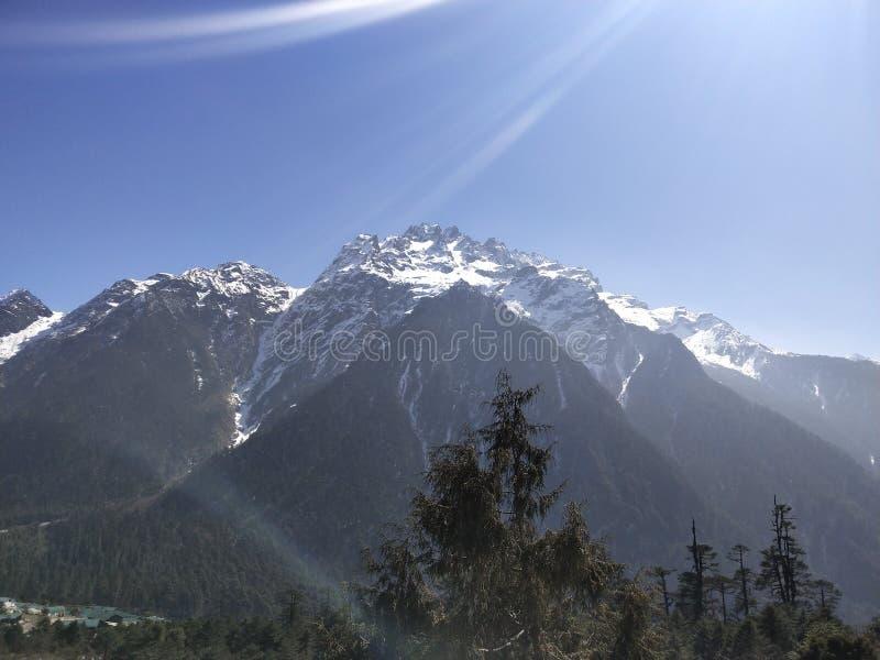Skönhet av högt land arkivbilder
