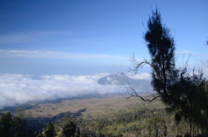 Skönhet av naturen på lombok indonesia royaltyfri fotografi