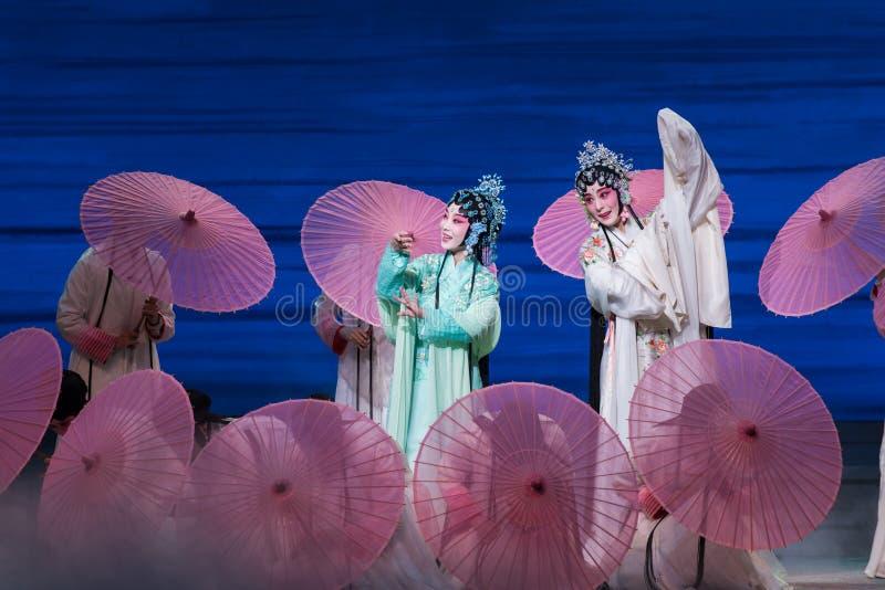 """Skönhet av Opera""""Madame vit Snake†för västra sjö-Kunqu  arkivfoto"""