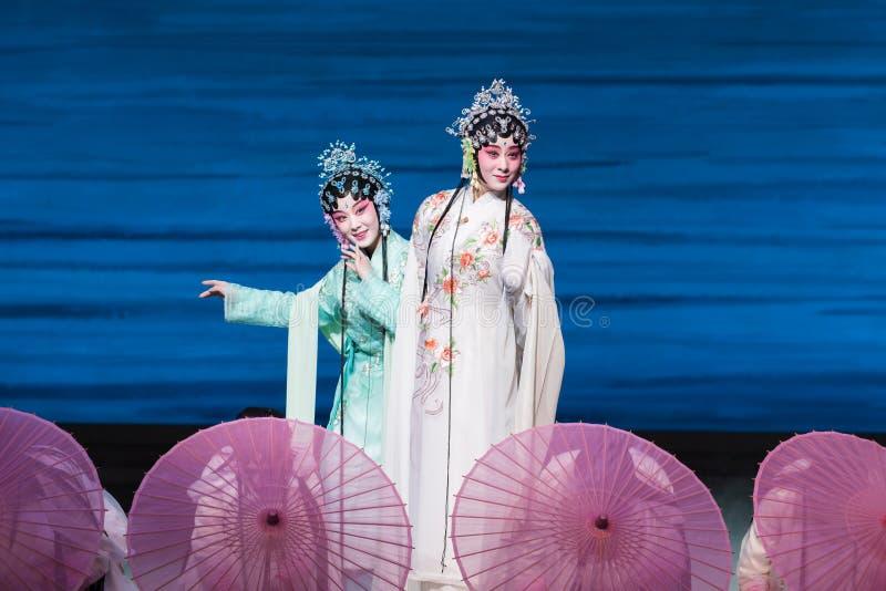 """Skönhet av Opera""""Madame vit Snake†för västra sjö-Kunqu  arkivbild"""