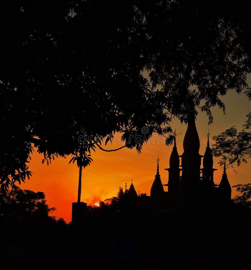 Skönhet av soluppgång royaltyfri foto