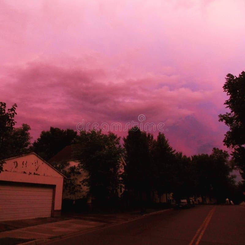 Skönhet efter stormen arkivfoto