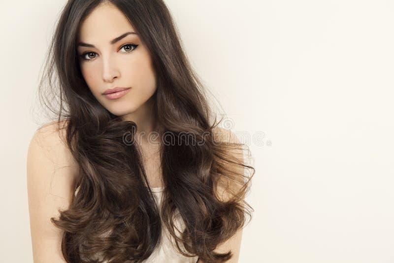 Skönhet och frisyr royaltyfria foton