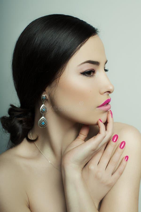 Skönhet och makeup arkivfoton