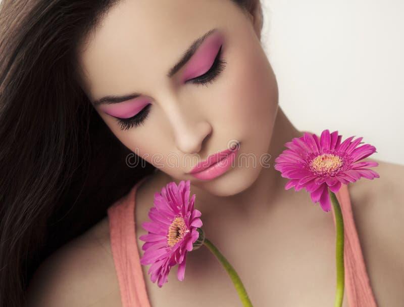 Skönhet och makeup royaltyfria foton